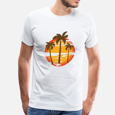 California Sunset Sunset - Men's Premium T-Shirt