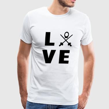 Chess Tournament love my sport - Men's Premium T-Shirt