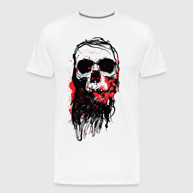 Bloody Skull - Men's Premium T-Shirt