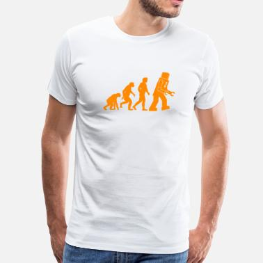 Howard Wolowitz Robot Evolution - Men's Premium T-Shirt