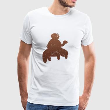 Funny Running - Slow Snail Turtle - Men's Premium T-Shirt