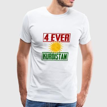 4 ever Kurdistan - Men's Premium T-Shirt