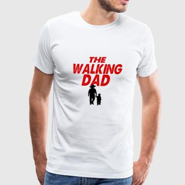 the walking dad funny - Men's Premium T-Shirt