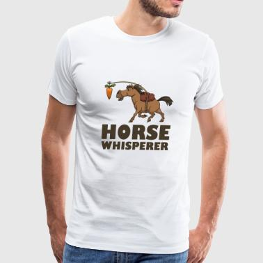 Horse Whisperer Carrot - Men's Premium T-Shirt