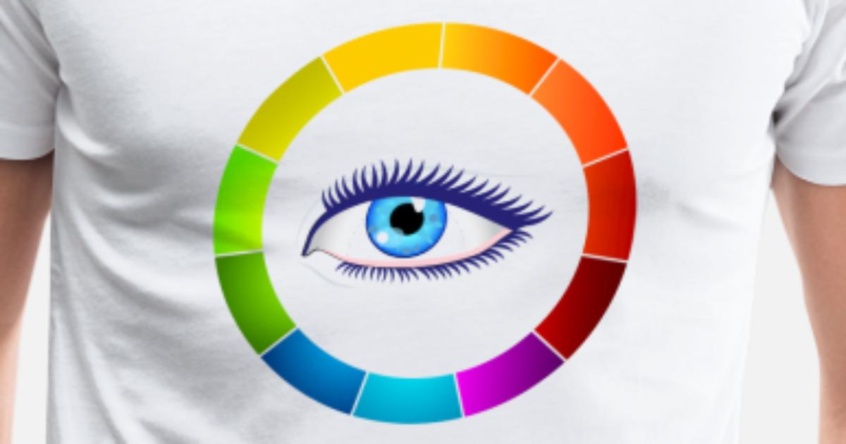 Eye Color Wheel By Shrtdsgn Spreadshirt