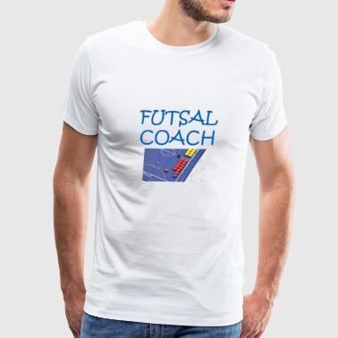 futsal coach3 - Men's Premium T-Shirt