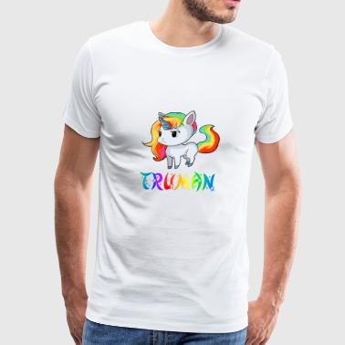 Truman Unicorn - Men's Premium T-Shirt