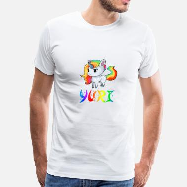 Yuris Yuri Unicorn - Men's Premium T-Shirt
