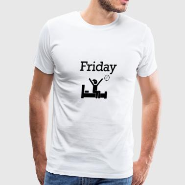 Friday Party Funny Weekend 26 - Men's Premium T-Shirt