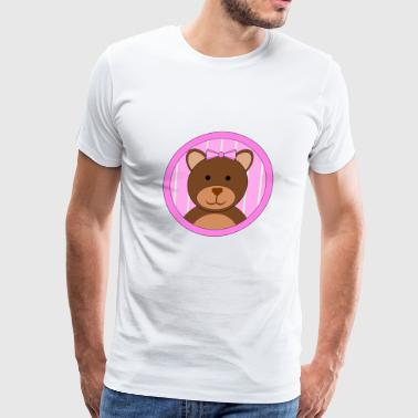Teddy Bear Girl - Men's Premium T-Shirt