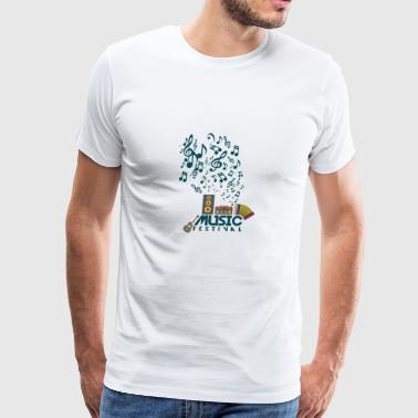 Music Festival - Men's Premium T-Shirt