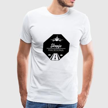 Skopje Macedonia - Men's Premium T-Shirt