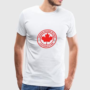Canadian Roots Canadians - Men's Premium T-Shirt