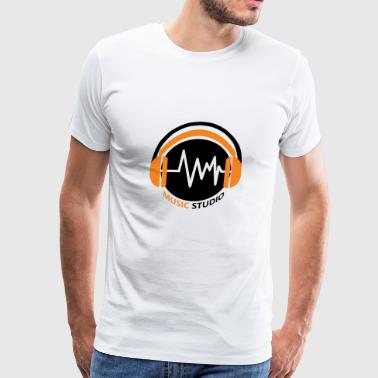 Music Studio - Men's Premium T-Shirt
