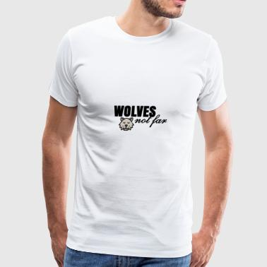 Far Wolves not far - Men's Premium T-Shirt