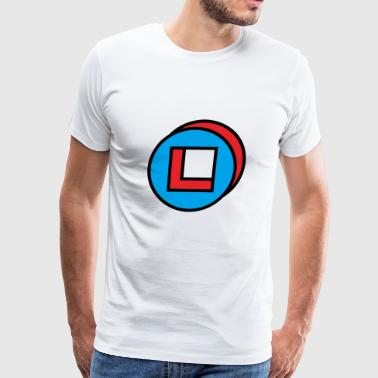 circle square - Men's Premium T-Shirt