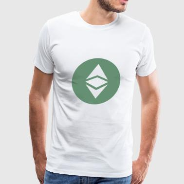 Ethereum Classic ETC - Men's Premium T-Shirt
