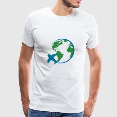 world travel - Men's Premium T-Shirt