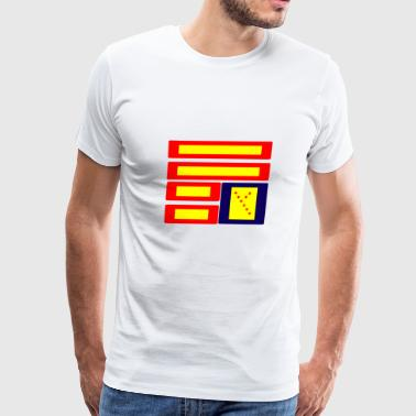 PYRO FLAG - Men's Premium T-Shirt