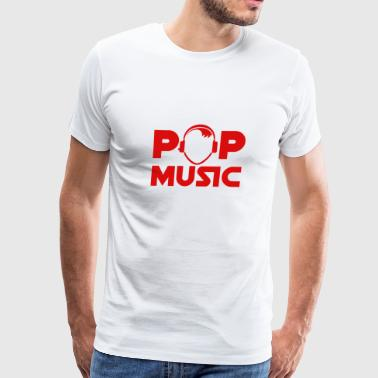 pop music - Men's Premium T-Shirt