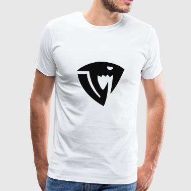 Fairy Tail Sabertooth symbol - Men's Premium T-Shirt