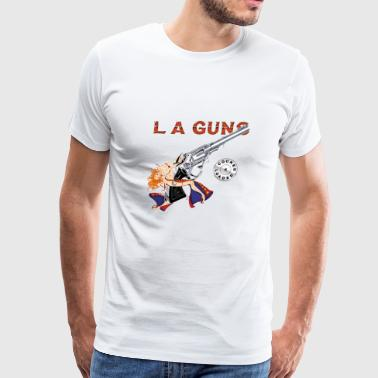 LA Guns Cocked - Men's Premium T-Shirt