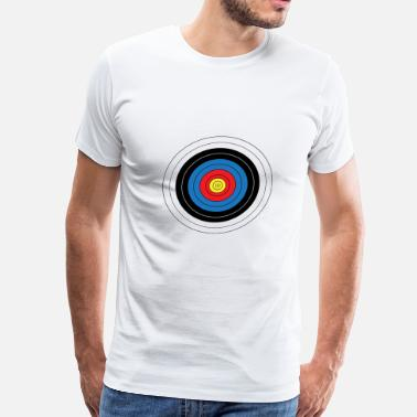 Arrow And Bow Robin Hood archery arrow bow crossbow target sports21 - Men's Premium T-Shirt