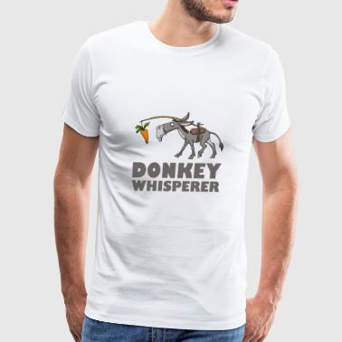 Donkey Whisperer Mule Carrot - Men's Premium T-Shirt