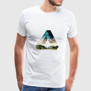 Penrose Triangle Penrose Triangle Design - Men's Premium T-Shirt