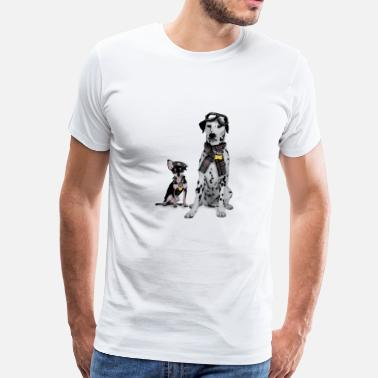 Trendy Trendy Dogs - Men's Premium T-Shirt