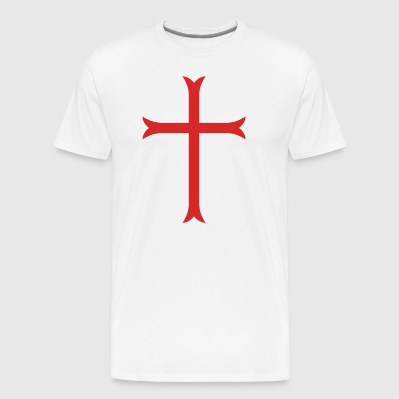 Crusader Cross - Men's Premium T-Shirt