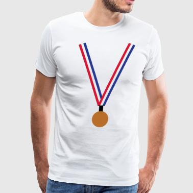 Bronze Medal - Men's Premium T-Shirt