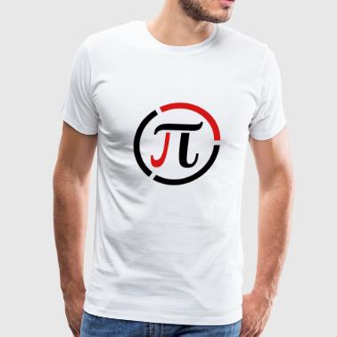 Modern Pi Symbol Sign - Men's Premium T-Shirt