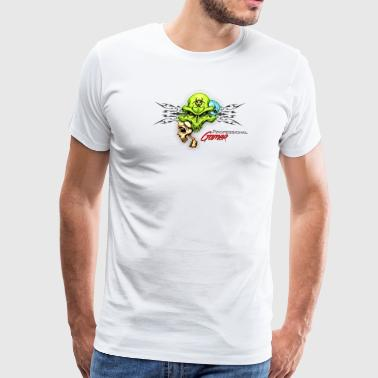 Professional Gamer Skull - Men's Premium T-Shirt