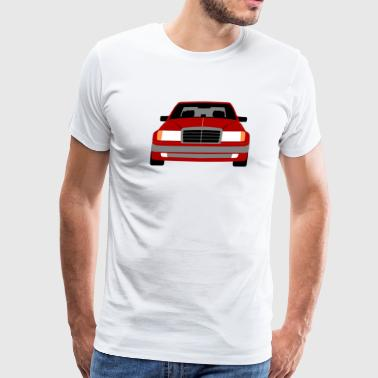 500e Mercedes Benz 124 500e - Men's Premium T-Shirt