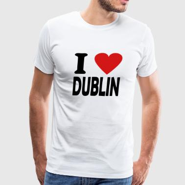 i love dublin - Men's Premium T-Shirt