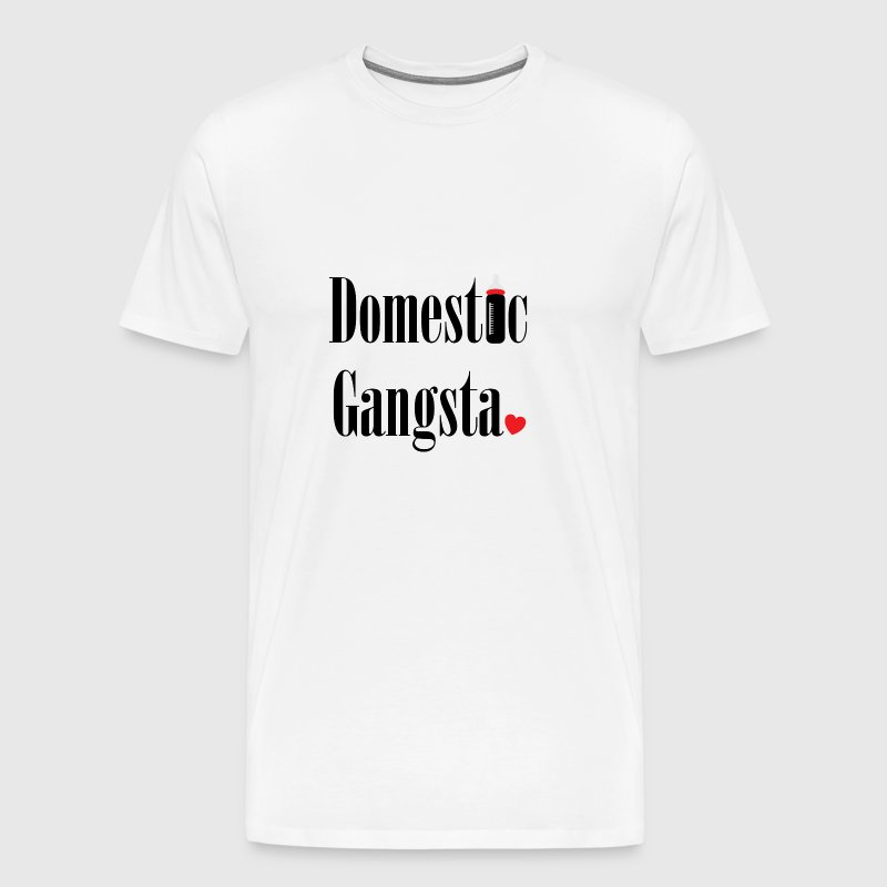 Domestic Gangsta - Men's Premium T-Shirt
