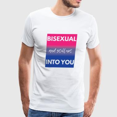 Bisexual - LGBT - Gay Pride - Gift - Men's Premium T-Shirt