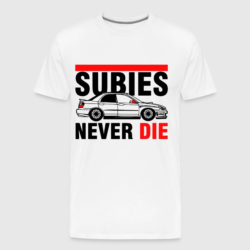 Subies never die for christmas - Men's Premium T-Shirt