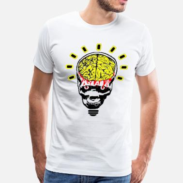 Meds Untitled skull ideas med - Men's Premium T-Shirt