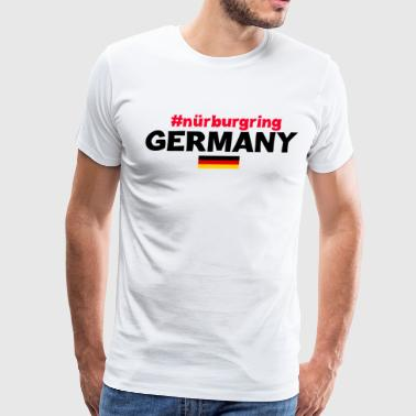 MAN T- SHIRT NURBURGRING - Men's Premium T-Shirt