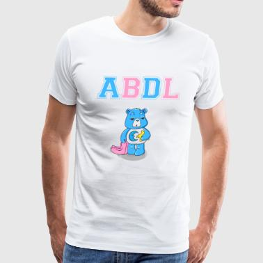 ABDL DDLG Brat Little Ageplay Adult Baby - Men's Premium T-Shirt
