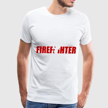 Off Duty Always On Call Firefighter Duty Hero Gift T Shirt - Men's Premium T-Shirt