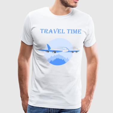 Travel Time T Shirt For Great Holiday - Men's Premium T-Shirt