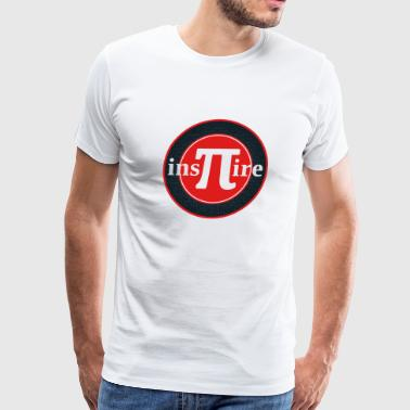 Pi Day Inspire Math Joke Pun Inspire - Men's Premium T-Shirt
