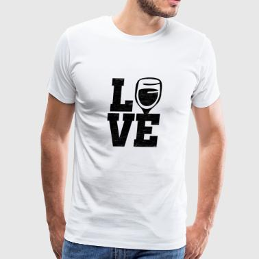 Love Wine - Men's Premium T-Shirt