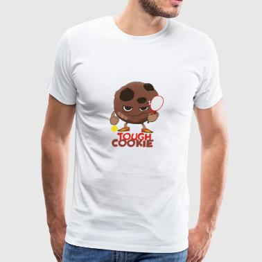 TOUGH COOKIE TENNIS - Men's Premium T-Shirt