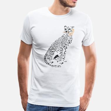 Kids Cheetah Cheetah - Men's Premium T-Shirt
