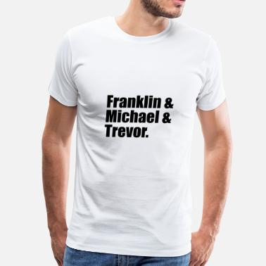 Gaming Community Franklin, Michael and Trevor - Men's Premium T-Shirt