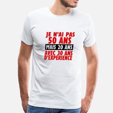Ane 50 ans - Men's Premium T-Shirt